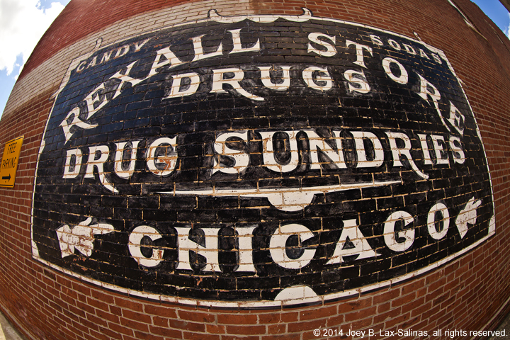 Rexall Store Drugs Advertisement Lowell, Indiana