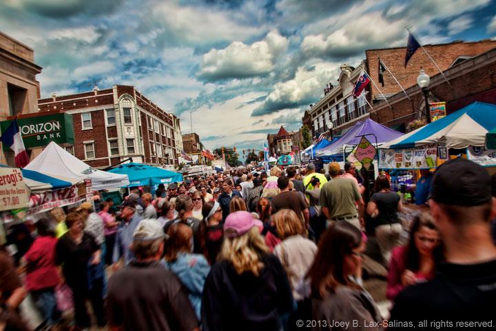 Pierogi Fest in Whiting, Indiana